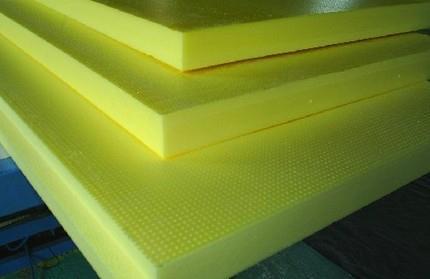 Полистирольные плиты разной высоты