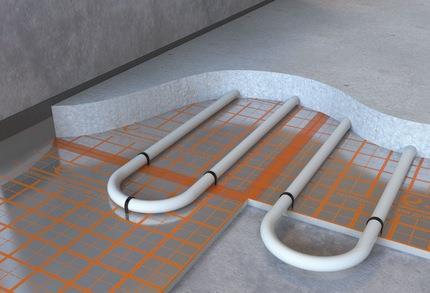 Изоляционная подложка под стяжкой