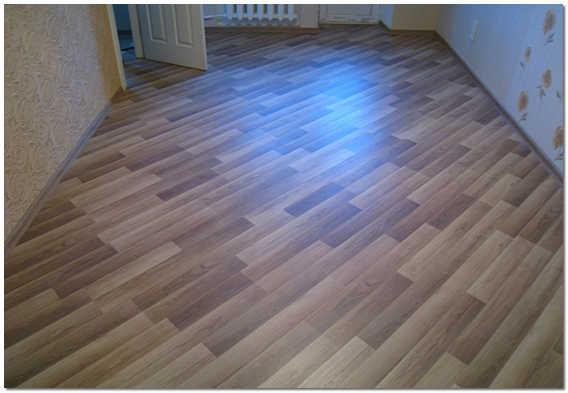 Укладка ламината на деревянный пол по диагонали фото