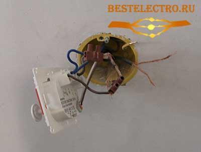 Демонтаж терморегулятора теплого пола
