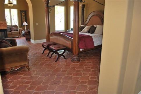 плитка в спальне марокканский стиль