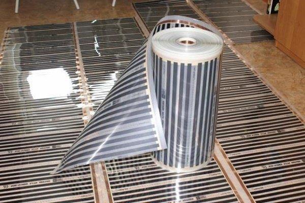 Рулон карбоновой инфракрасной пленки