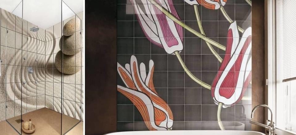 Керамическое панно на стену будет выглядеть гармонично и красиво, оно дополнит любой стиль и интерьер помещения