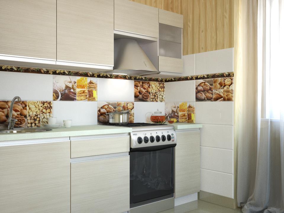 плитки из керамики кухня