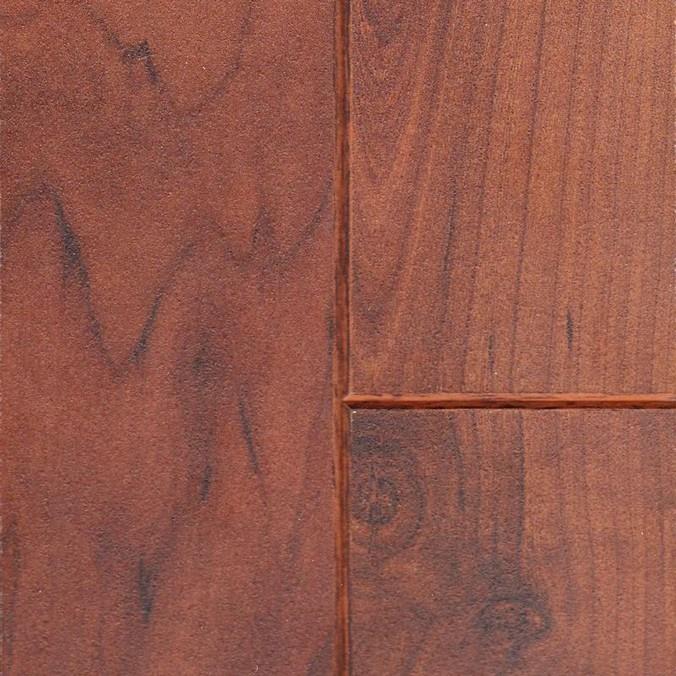 Доска вишневого ламината с фаской по четырем сторонам