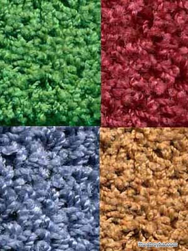 Ковровые напольные покрытия (ковролин)