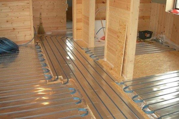 Проектирование теплых полов в деревянном доме