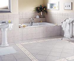 Как уложить кафель на пол в ванную своими руками?