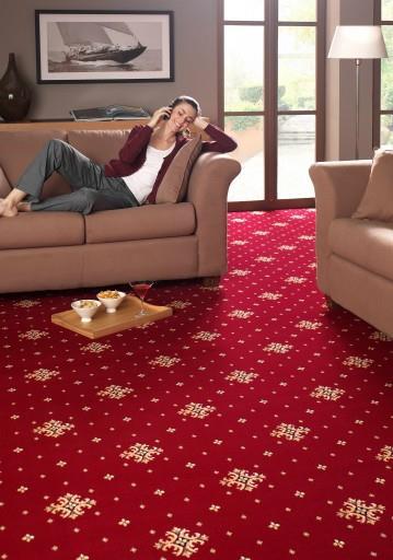 Чистое ковровое покрытие улучшает атмосферу в помещении