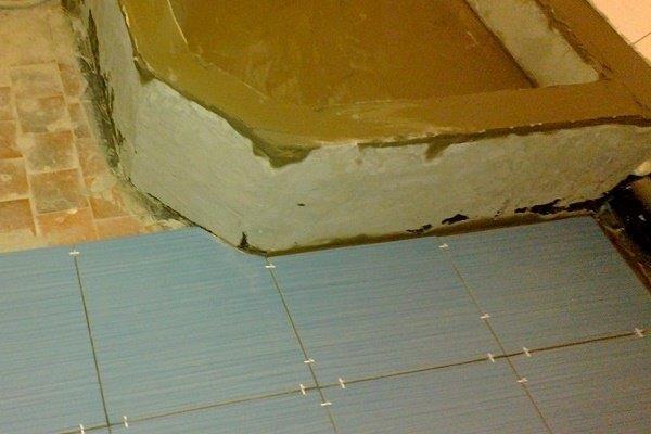 Этап 3: Заливка стяжки с уклоном к сливу