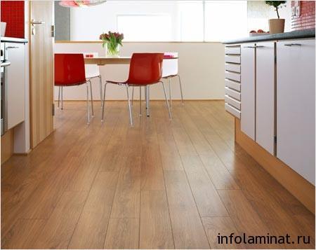 Использование ламинированного покрытия в кухне