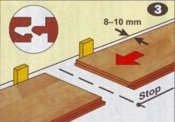 как правильно класть ламинат
