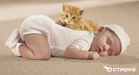 малыши на ковре