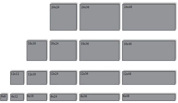 Перед тем как приступить к укладке плитки, необходимо ознакомиться с ее размерами и характеристиками