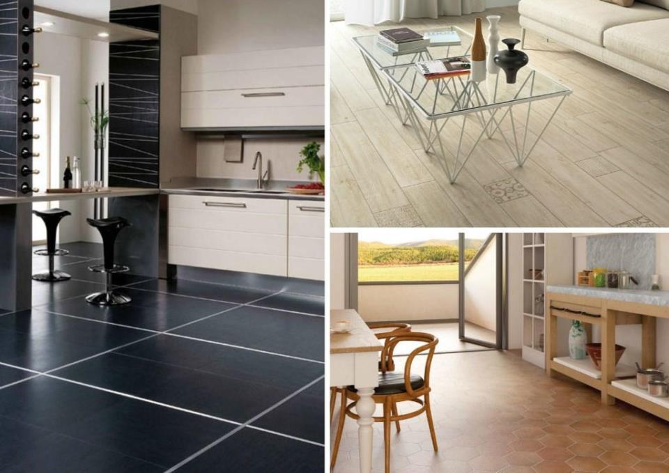 Керамическая плитка может быть разных форм и размеров, подбирать которую можно на свое усмотрение