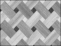 Плетенка в три породы - вариант 2