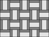 Плетенка две породы - вариант 3
