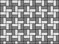 Раскладка «шашечками» - вариант 2
