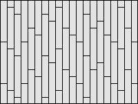 Палубная раскладка плитки - вариант 2