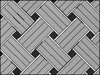 Плетенка в три породы - вариант 1