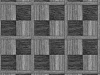 Простой вариант шашечого рисунка