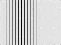 Палубная раскладка плитки - вариант 1