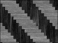 Раскладка ёлочкой из плитки разных цветов - вариант 1