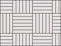 Раскладка «шашечками» - вариант 3
