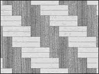 Раскладка ёлочка двойная из плитки разных цветов