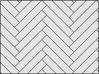 Раскладка ёлочкой - вариант 1