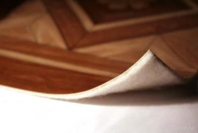Линолеум с подложкой из войлока
