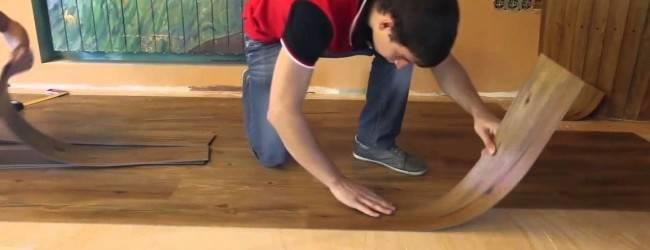 Самоклеющаяся виниловая плитка для пола