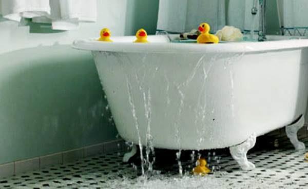 Перелив ванной