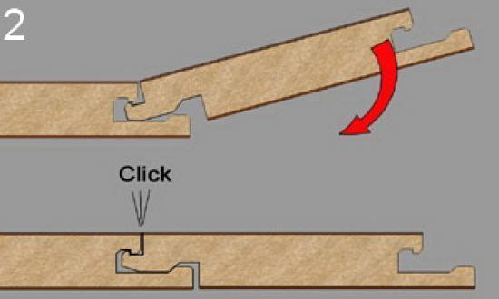 Существует два основных способа соединения пластин - клеевой и замковой.
