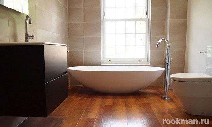 Ламинат 33 класса водостойкий для ванной комнаты