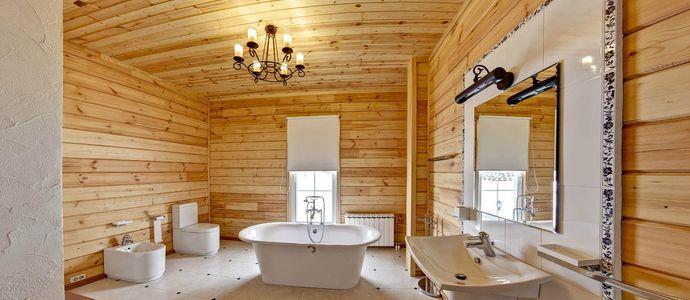 Полы в ванной в деревянном доме
