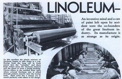 Как появился линолеум
