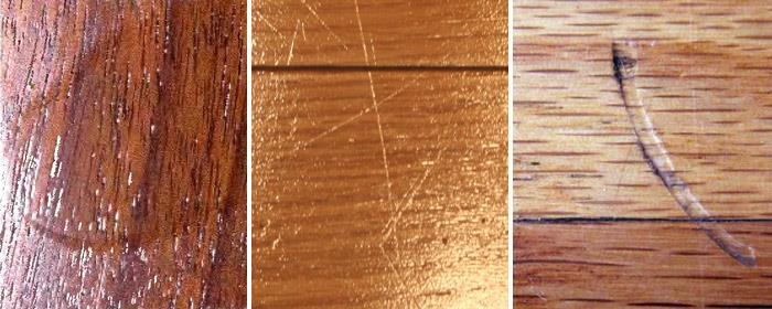 дефекты лакового покрытия