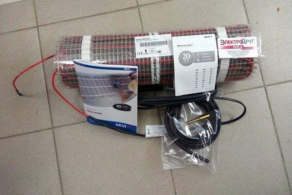 Монтажная комплектация электрической системы