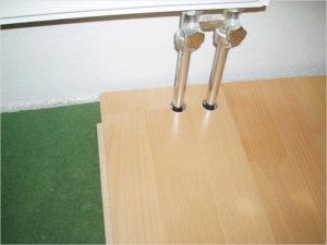 Особенности укладки ламелей возле труб