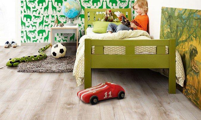 Экологичное ламинированное напольное покрытие Винтаж - идеальное решение для детской