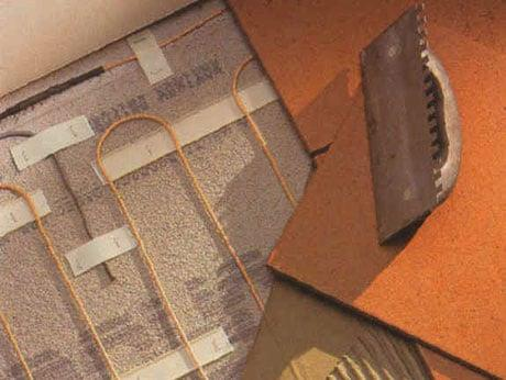 вскрытие напольного покрытия и стяжки
