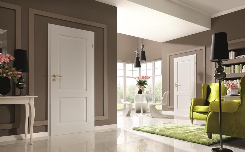 светлый белый пол в стиле спальни