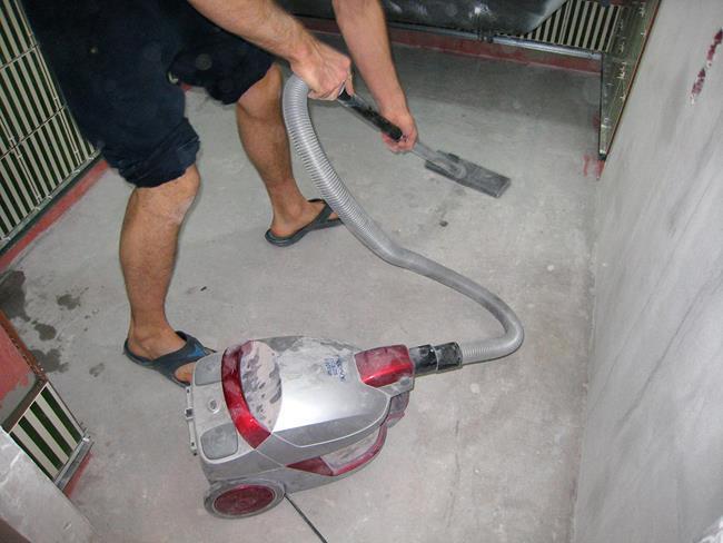 Очистка поверхности