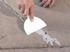 неровности бетона