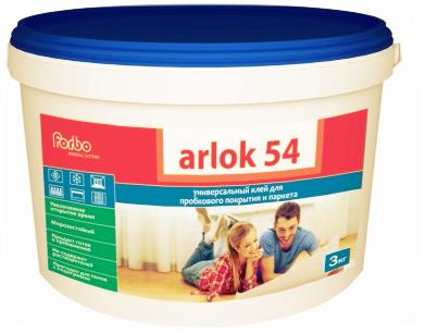 Клей для напольных покрытий arlok 54