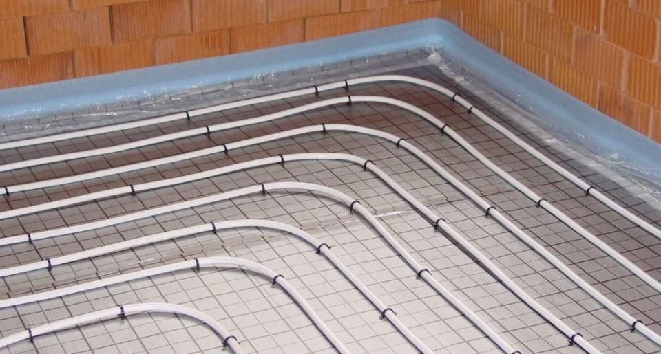 Строение водяного пола