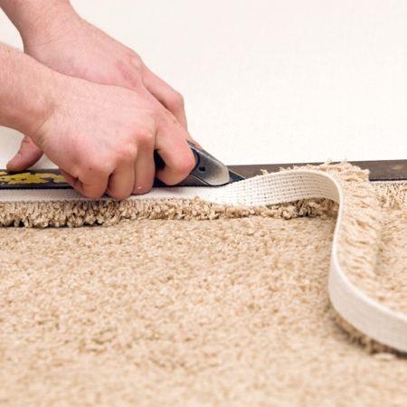 Как укладывать ковролин своими руками на бетон, ламинат или деревянный пол