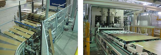 Завод tarkett , производственные линии.