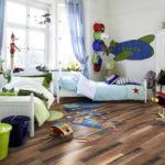 Пол в детской комнате на основе ламината